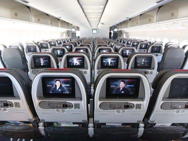 So lehnen Sie Ihren Flugzeugsitz zurück, ohne ein Dick zu sein