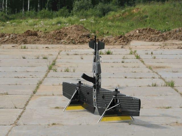 Un Kalashnikov que vuela: Rusia muestra primeras imágenes del dron basado en su mítico AK-47