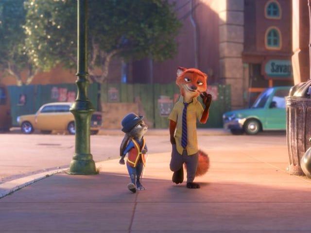 Matalino subtext madalas trumps jokes sa Disney ng Zootopia