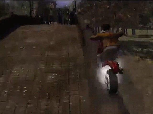 Ранние разработки эксклюзивного Infamous мотоцикла-паркура PS3