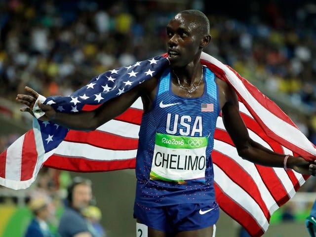Paul Chelimo guadagna argento a 5.000 metri, impara che è stato squalificato in diretta TV, quindi viene reintegrato