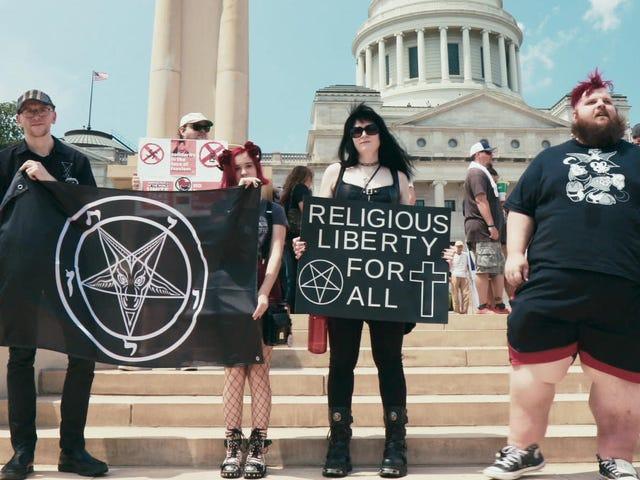 Hail Satan? is an insider look at an activist movement born to raise hell