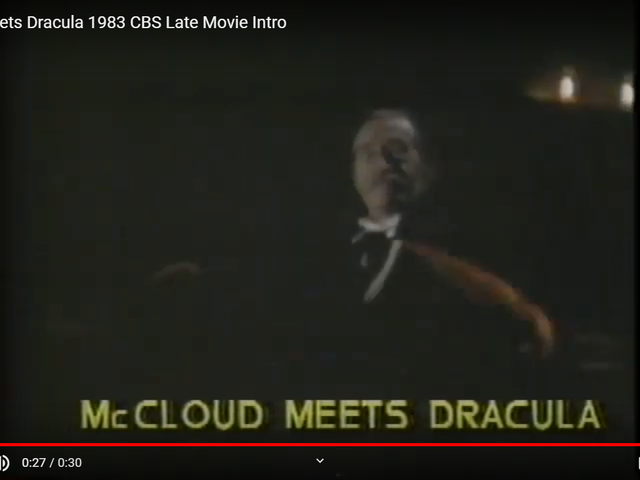 McCloud Meets Dracula