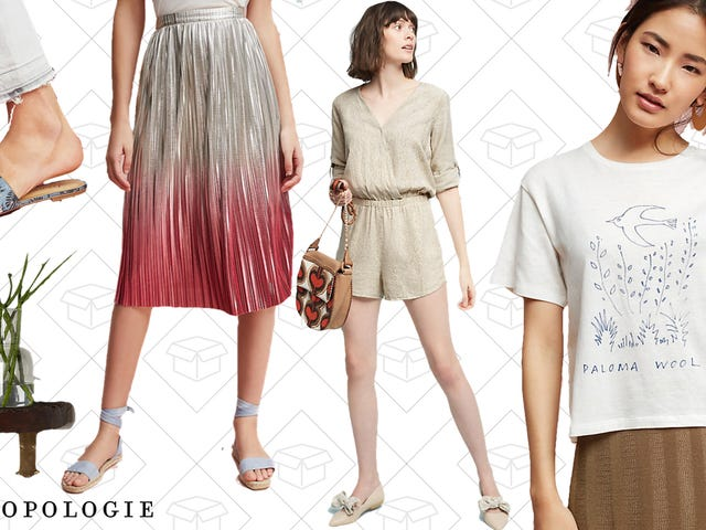 Anthropologie Is Having a Tag Sale With Up to 50% Off Apparel, Housewares, and More