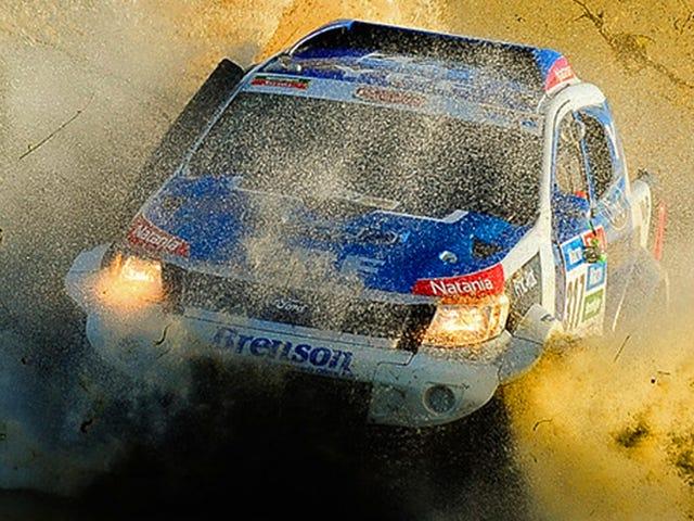 Τι είναι σαν να τρέχεις ένα νέο Ford Ranger στο τελευταίο Off-Road Rally