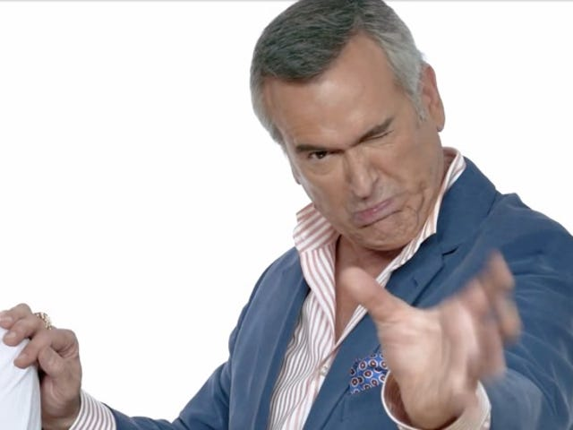 Witness the Hilarity of Bruce Campbell and Lucy Lawless Rating Famous Horror-Movie Scenes