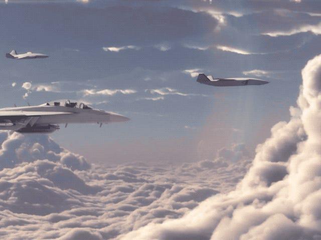 Boeing revela un caza ingen tripulado dotado de IA och Capaz de colaborar con pilotos humanos