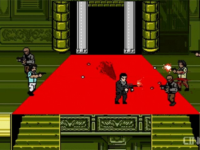 Scarface As An NES Shooter