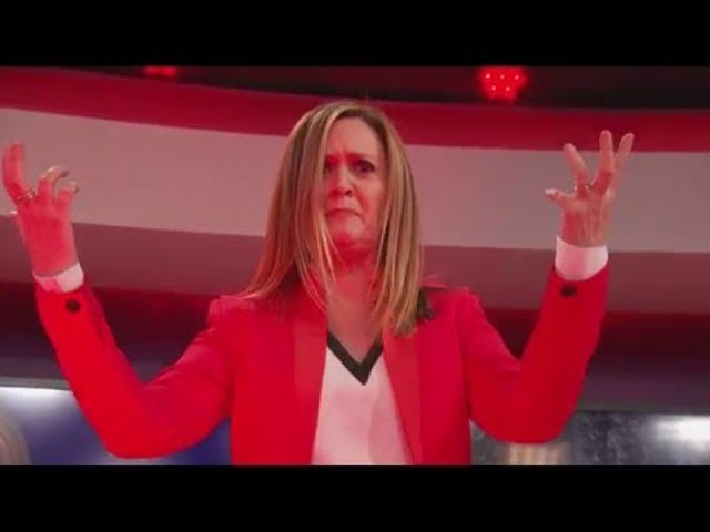 <i>Full Frontal with Samantha Bee</i> Punches Up và Punches Hard