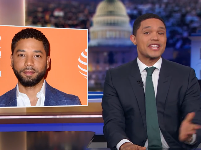 Trevor Noah and The Daily Show dive in and dissect this whole absurd Jussie Smollett mess