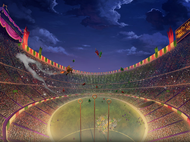 Why is there no Quidditch game?