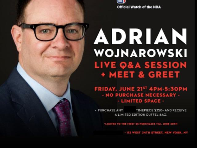 ESPN của Adrian Wojnarowski bây giờ là một sự hợp tác của một nhà tài trợ NBA