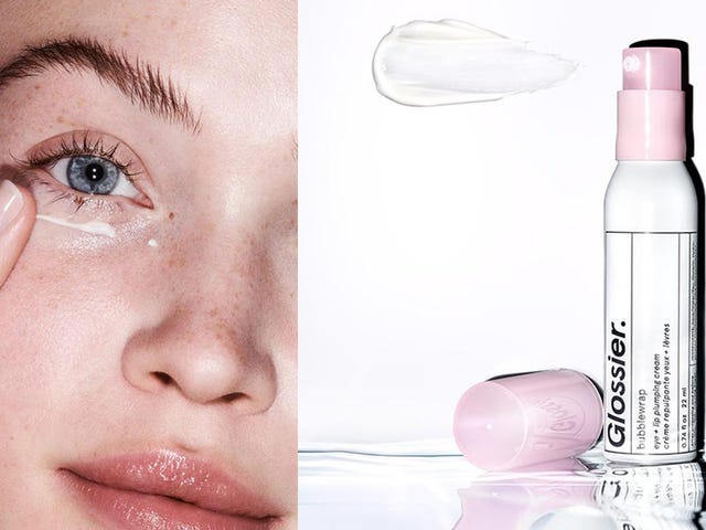 Glossier's New Bubblewrap Is an Eye Cream That Also Works on Your Lips