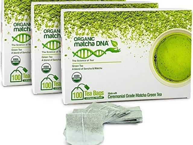 30% OFF Matcha DNA Certified Organic Matcha Green Tea (300 Teabags) $26.56