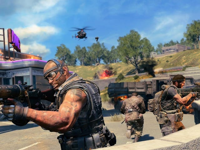 Call of Duty's Frantic Battle Royale Takes Some Adjustment