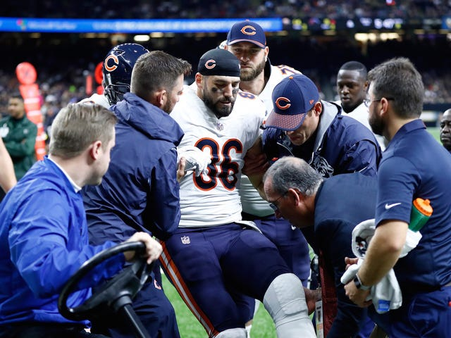 "Zach Miller On Gruesome Leg Injury: Amputation Was ""Very Real"" Possibility"