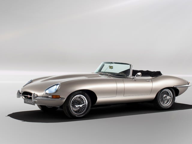 The Best Part About the New Electric Jaguar E-Type Conversions Is That It's Completely Reversible