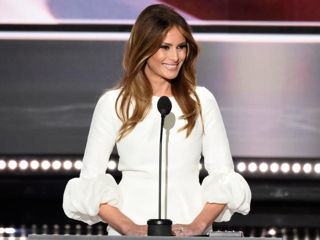 Trump Staffer Takes the Fall for Plagiarism in Melania Trump's Speech