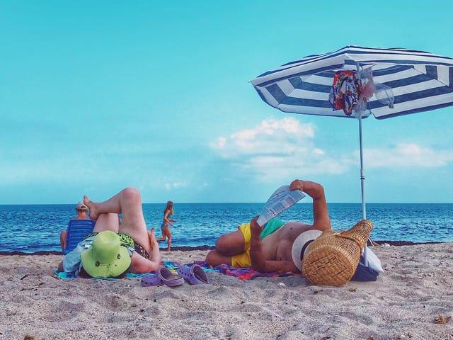 Sådan får du en pause fra dine børn, mens du er på ferie