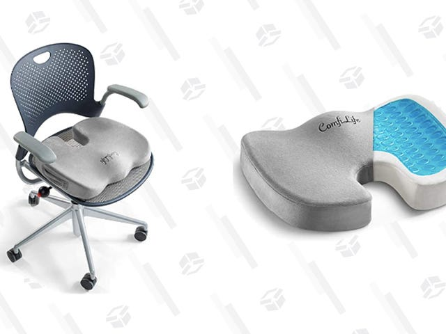 You Need This Memory Foam Seat Cushion If You Spend Your Workday In an Office Chair