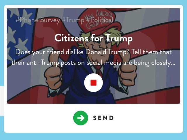 Those 'Citizens for Trump' Robocalls Were a Prank Gone Wrong
