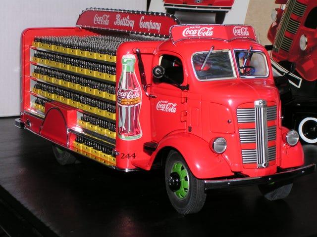 สัปดาห์รถ LaLD - Murica วันจันทร์: 1938 GMC รถบรรทุกจัดส่ง Coca Cola