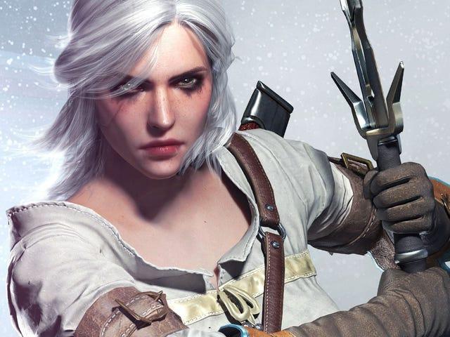 Помните, <i>The Witcher's</i> Ciri <i>The Witcher's</i> возможно, был в <i>Cyberpunk 2077</i>