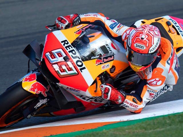 Marquez fortsætter sin dominans af MotoGP med en tredobbelt krone