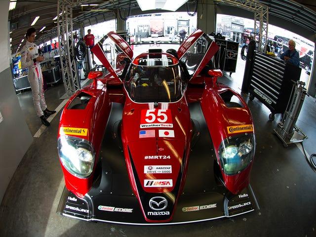 O segredo para a nova velocidade do protótipo da Mazda é a troca de motor para 2016