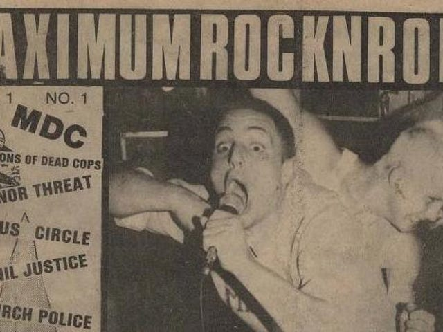 MaximumRocknroll to cease print publication after 37 years