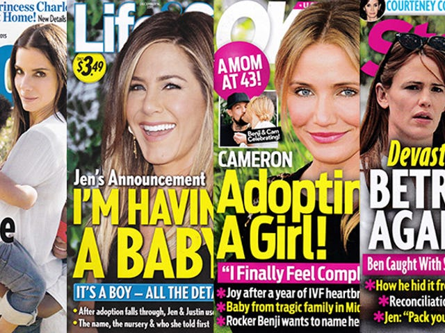 This Week In Tabloids: Jennifer Aniston Is Finally Having Her 1,187,366th Baby!