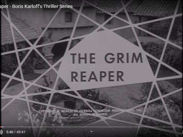 Thriller - The Grim Reaper