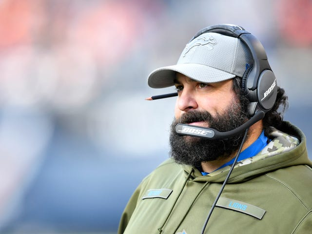Matt Patricia Made The Lions Practice In The Snow For No Good Reason