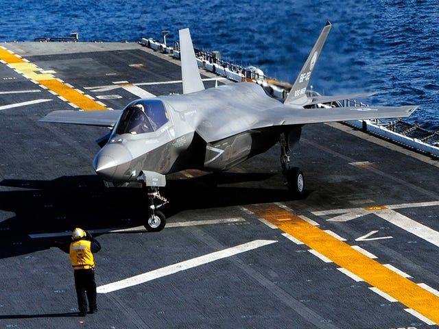 Diseñan un nuevo motor para que el problemático F-35 sea más eficiente en combate