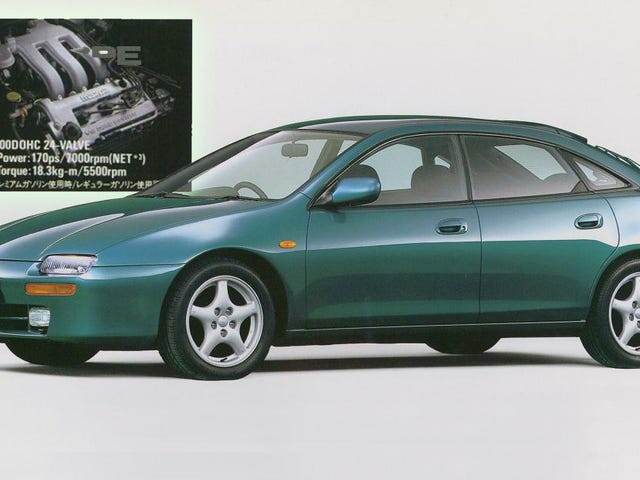 Mazda's Tiny V6 Was Weirdly Overbuilt