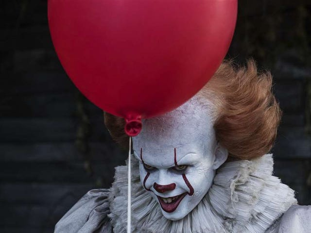 The stars of It: Chapter Two are being haunted by red balloons on Instagram