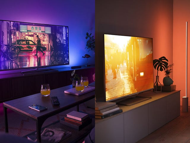Philips Hue's New Lamps Look Like the Slickest Way to Throw Colors on Your Walls