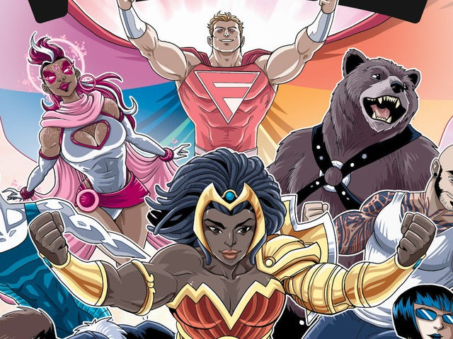 The Pride's queer superhero team returns in this Fame Monster exclusive