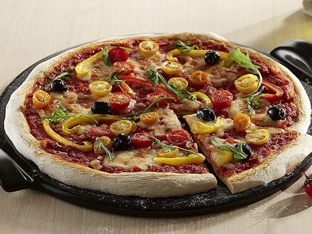 Get Crispier Crusts With This Popular Pizza Stone, On Sale Today Only