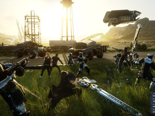 Square Enix says we shouldn't expect a PC version of Final Fantasy XV anytime soon, according to an