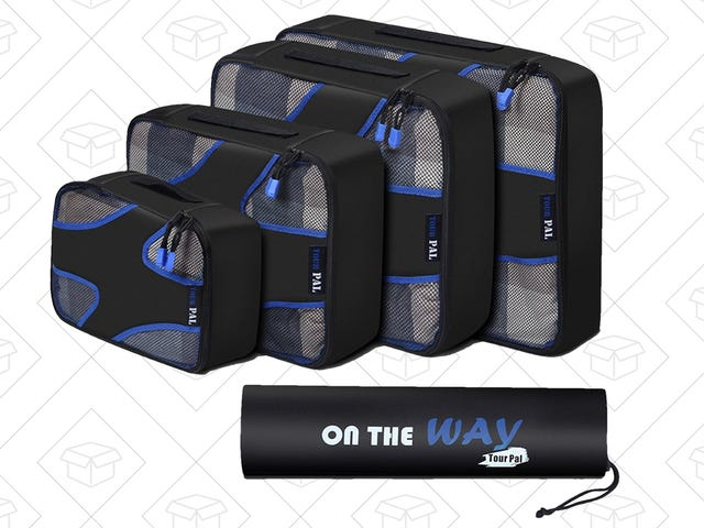Finally Get Yourself a Set of Packing Cubes For $17