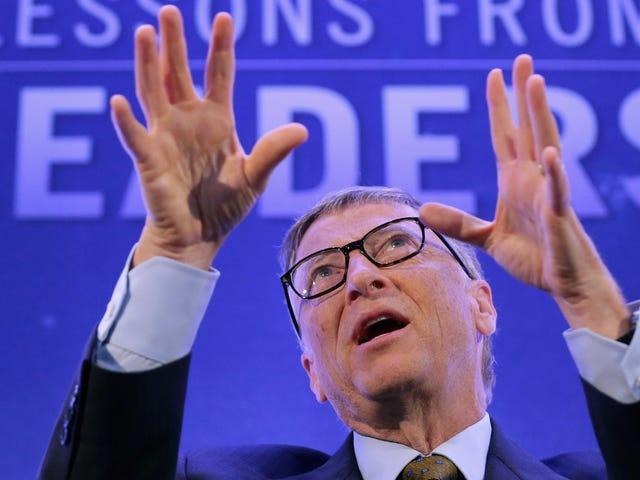 Bill Gates avverte che 30 milioni di persone potrebbero morire di pandemia influenzale se non la prendiamo insieme