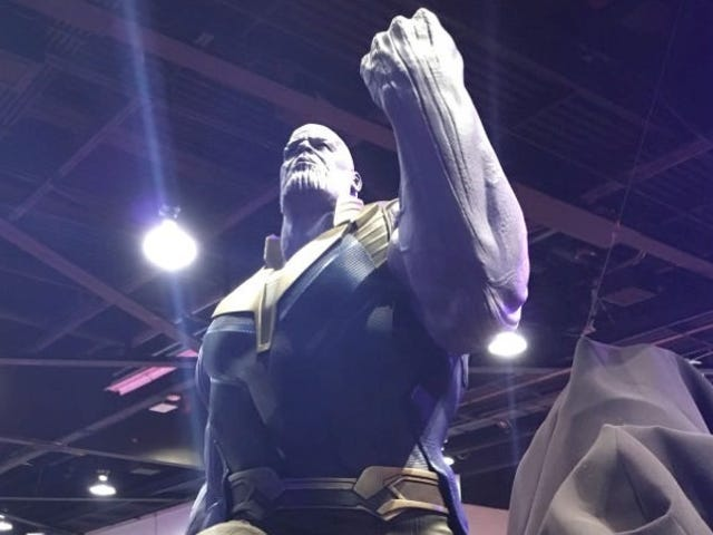 Thanos' Black Order and Infinity Gauntlet Have Been Revealed