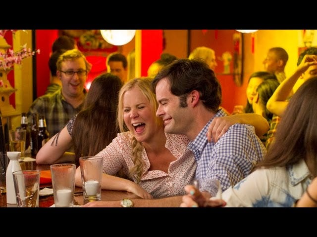 Amy Schumer Refuses to Be Romanced by Bill Hader in Trainwreck