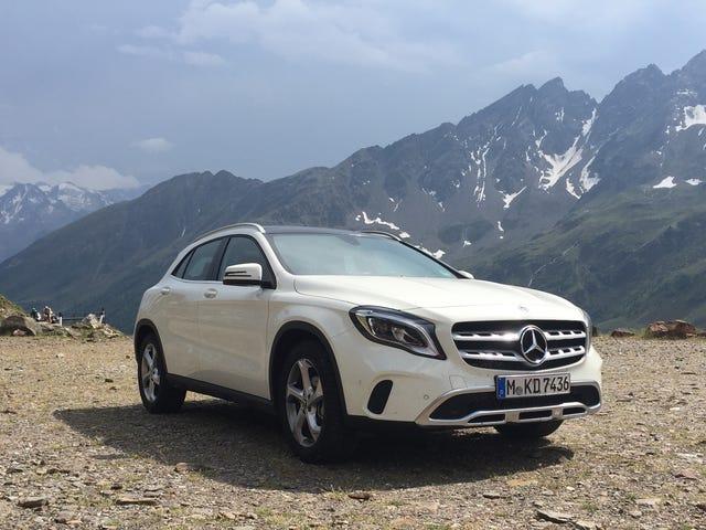Rental Car Review- Mercedes-Benz GLA edition