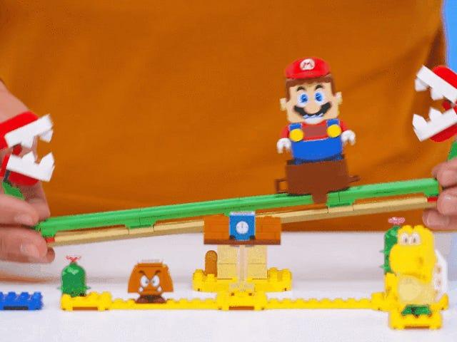 İlk Lego Süper Mario Açılımları Harika Tuhaf Görünüyor