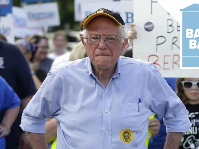 Bernie Sanders Is Not Here to Make Friends
