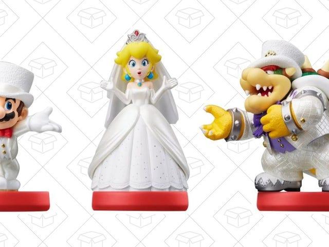 Amazon's Selling Mario Odyssey Amiibo For $13 Each, If You Hurry