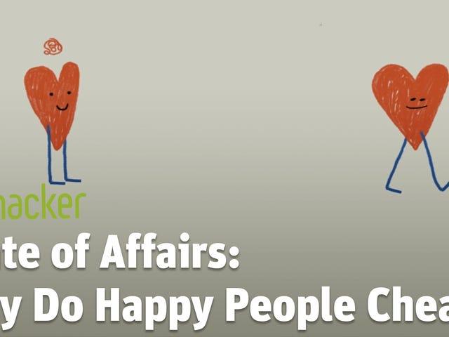 Γιατί οι ευτυχείς άνθρωποι έχουν υποθέσεις;