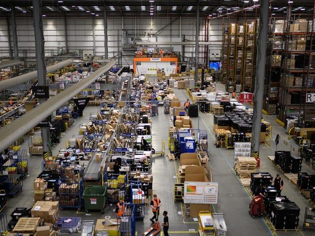 The Amazon Distribution Center Sounds Like a Capitalist Hellscape